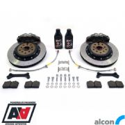 RCM / ALCON 4 Pot Rear Brake Kit Black 343mm RCM2936
